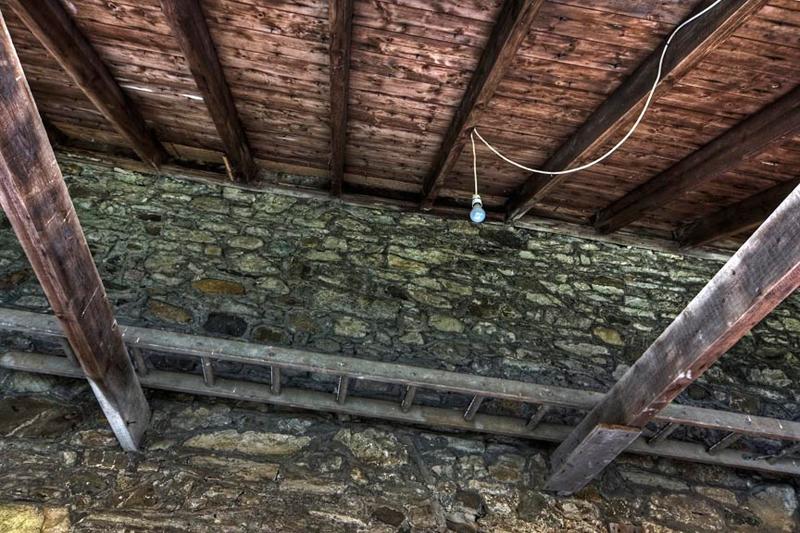 Roofbeams at Isel Hall